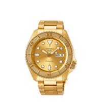 Seiko horloge SRPE74K1 goudkleur, Goud