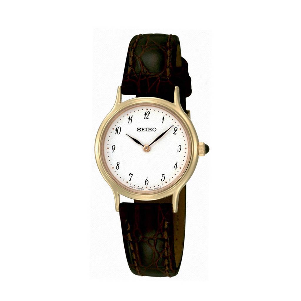 Seiko horloge SFQ828P1, Bruin