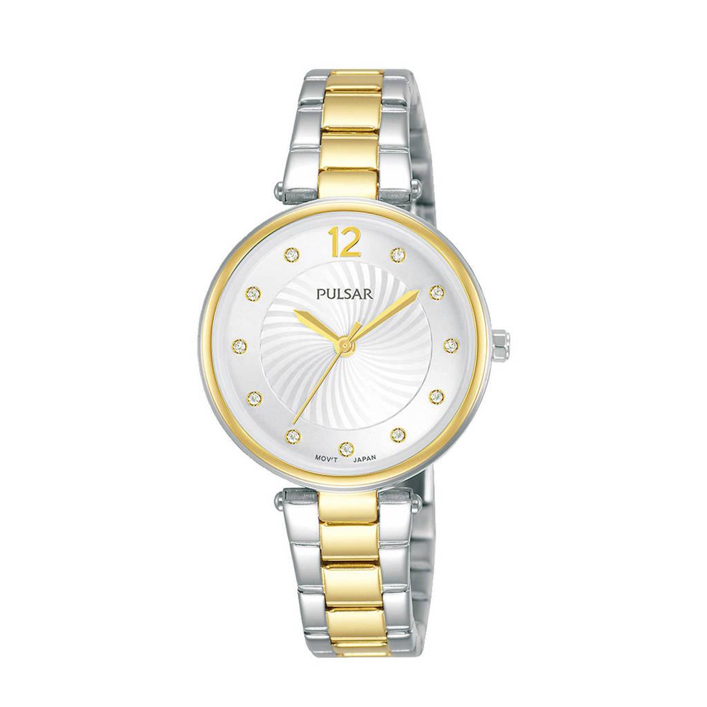 Pulsar horloge PH8492X1 zilver/goud, Zilver/goud