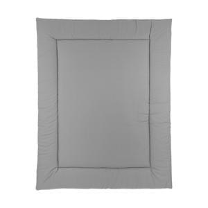 boxkleed uni grijs/uni lichtgrijs
