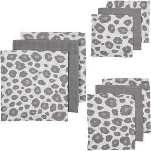 hydrofiele starterset Panter - set van 3x3 wit/grijs/beige