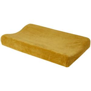 aankleedkussenhoes Velvet honey gold