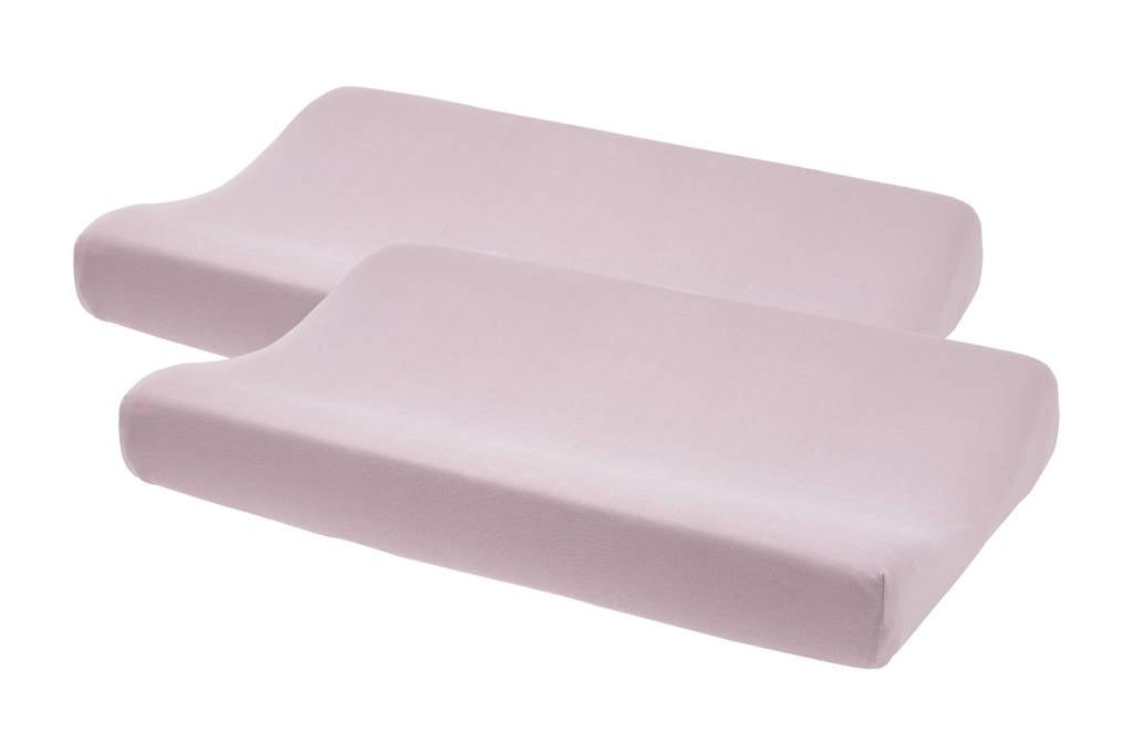 Meyco aankleedkussenhoes - set van 2 Basic jersey lilac, Lila