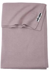 Meyco wiegdeken Knit basic 75x100 cm lilac, Lila