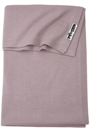 wiegdeken Knit basic 75x100 cm lilac