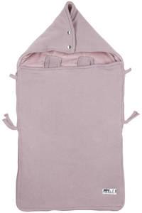 Meyco gebreide autostoel voetenzak Knit basic lilac, Lila