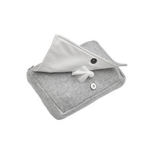 billendoekjesbox Knit basic grijs melange