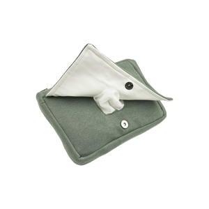 billendoekjesbox Knit basic forest green