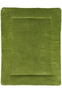 Meyco boxkleed Knit basic 77x97 cm avocado, Groen