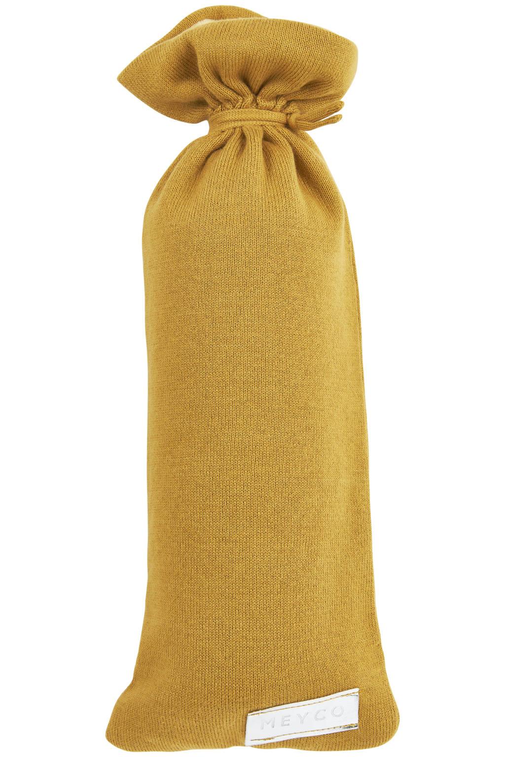 Meyco kruikenzak Knit basic honey gold, Goud