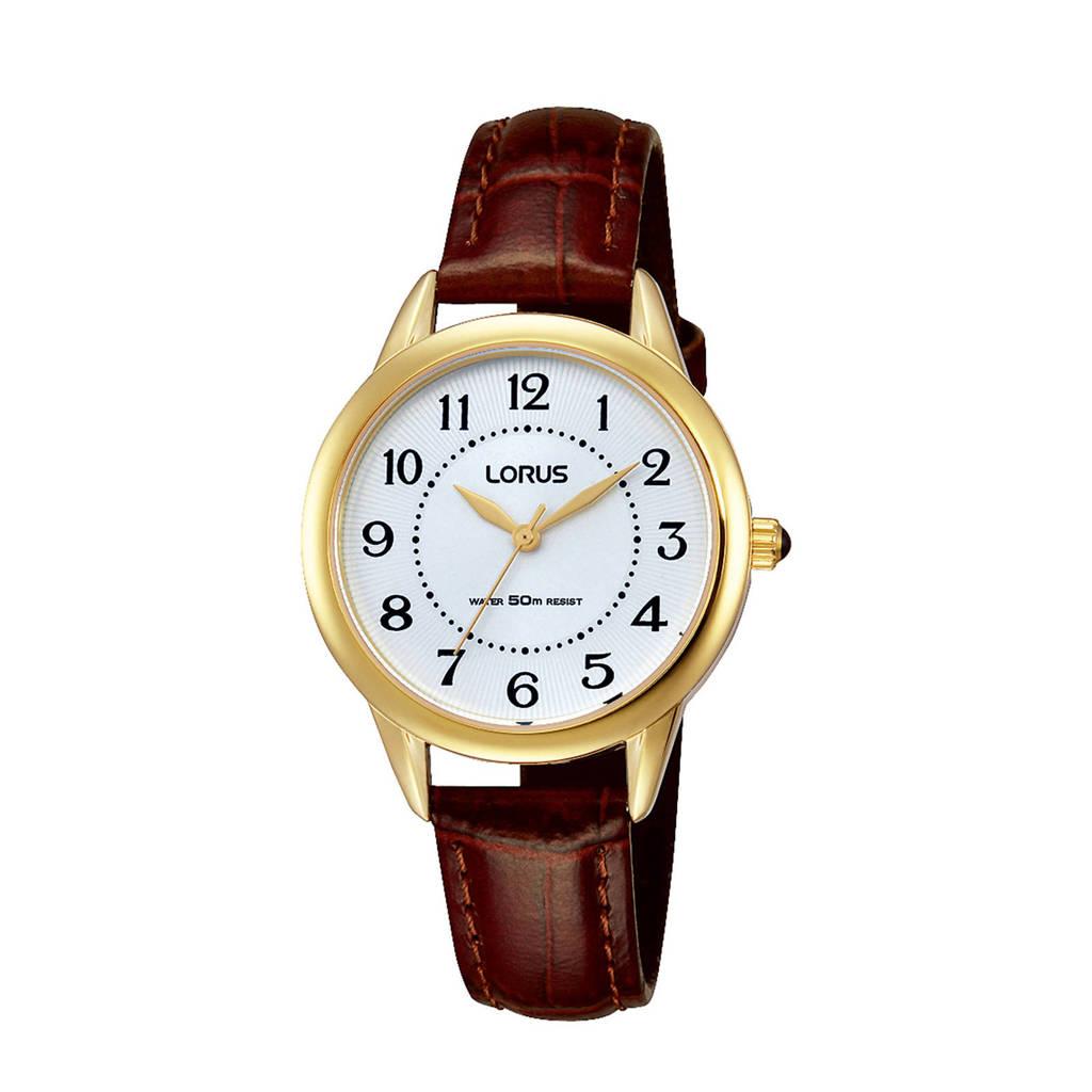 Lorus horloge RG252JX9, Bruin