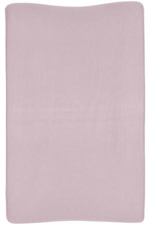 aankleedkussenhoes Basic jersey lilac