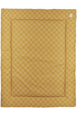 boxkleed Double diamond 80x100 cm honey gold