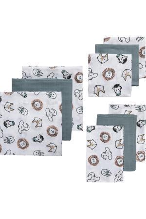 hydrofiele starterset Animal - set van 3x3 wit/grijs