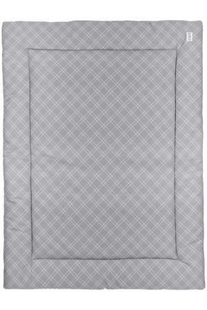 boxkleed Double diamond 80x100 cm grijs
