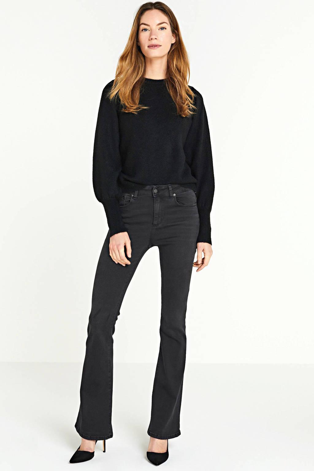 PIECES trui zwart, Zwart