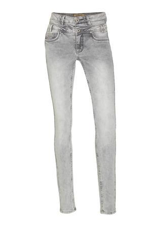 high waist slim fit jeans Ibiza light grey