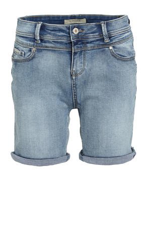 slim fit short Ashley medium blue