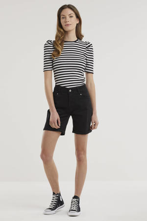 straight fit short Ashley black