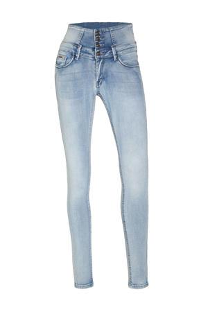 high waist skinny jeans Jakarta light blue