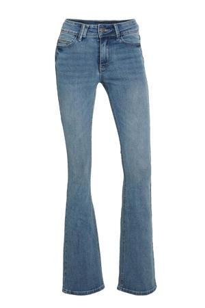 high waist flared jeans Sylvie Flare medium blue