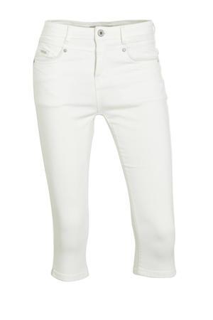 high waist skinny capri Zoë Capri white
