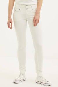 Il Dolce high waist slim fit jeans Ibiza white, White