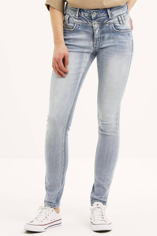 Il Dolce high waist slim fit jeans Ibiza light blue, Light Blue