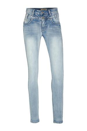 high waist slim fit jeans Ibiza light blue