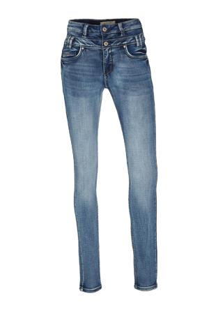 high waist slim fit jeans Ibiza medium blue