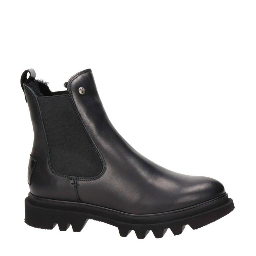 Panama Jack Thais Igloo  leren chelsea boots zwart, Zwart