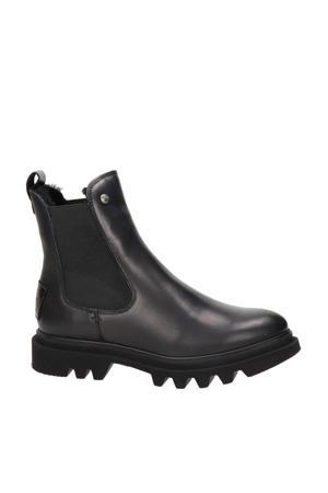 Thais Igloo  leren chelsea boots zwart