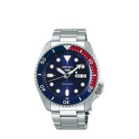 Seiko horloge SRPD53K1 zilverkleur, Zilverkleurig