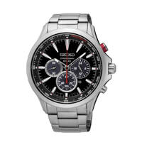 Seiko horloge SSC493P1 zilverkleur, Zilver