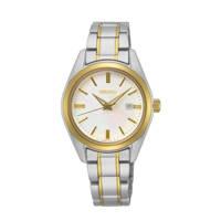 Seiko horloge SUR636P1 zilver/goudkleur