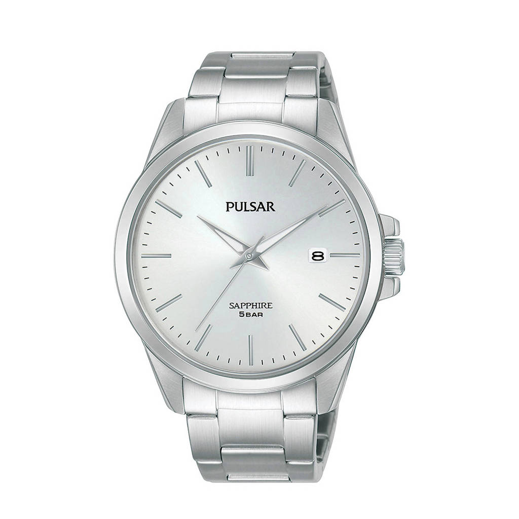 Pulsar horloge PS9635X1 zilverkleur, Zilver
