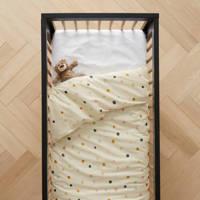 wehkamp home dekbedovertrek ledikant, wit-multi, Baby (100 cm breed)