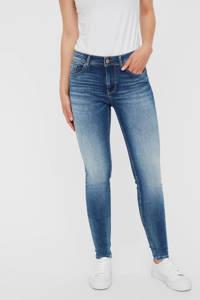 VERO MODA skinny jeans Lux met biologisch katoen blauw, Blauw