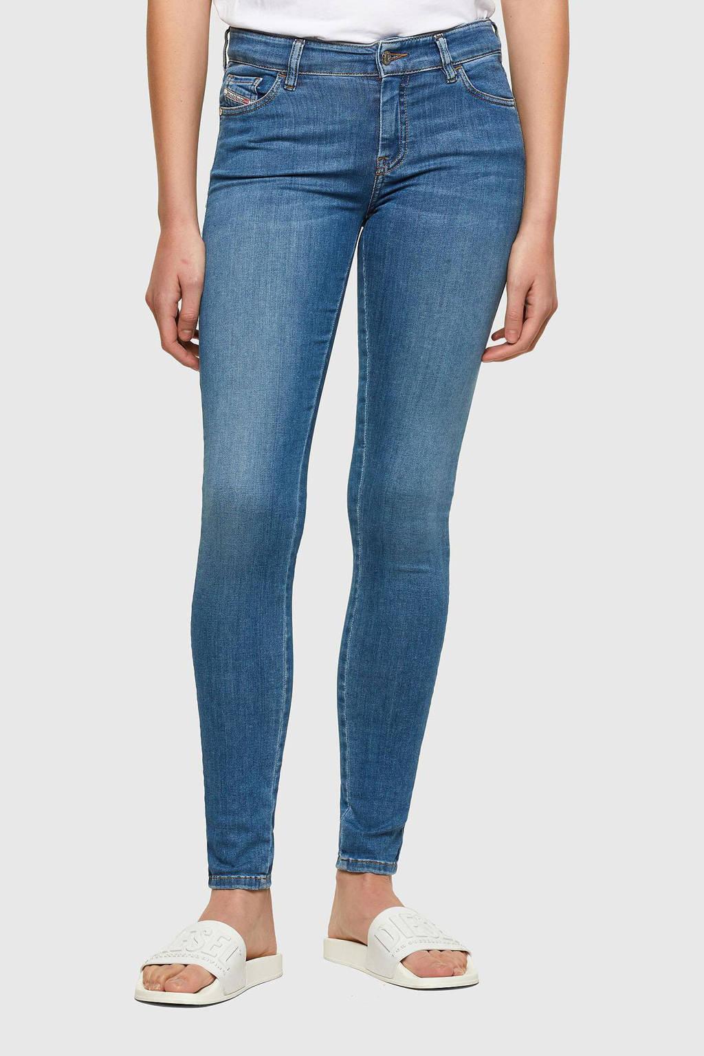 Diesel skinny jeans Slandy 01 licht blauw