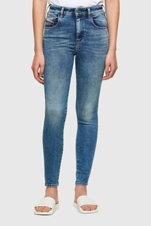 high waist skinny jeans D-Slandy-High 01 licht blauw