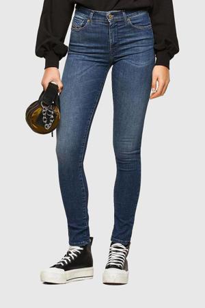 skinny jeans D-Roisin donkerblauw