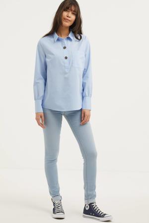blouse FQFLYNN lichtblauw
