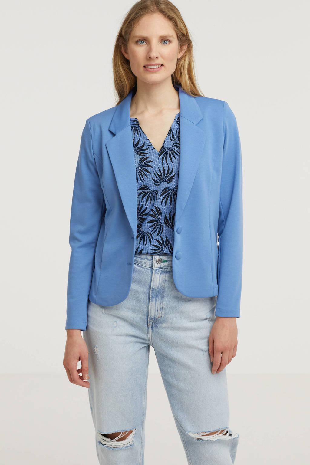 FREEQUENT blazer FQNANNI-JA blauw, Blauw