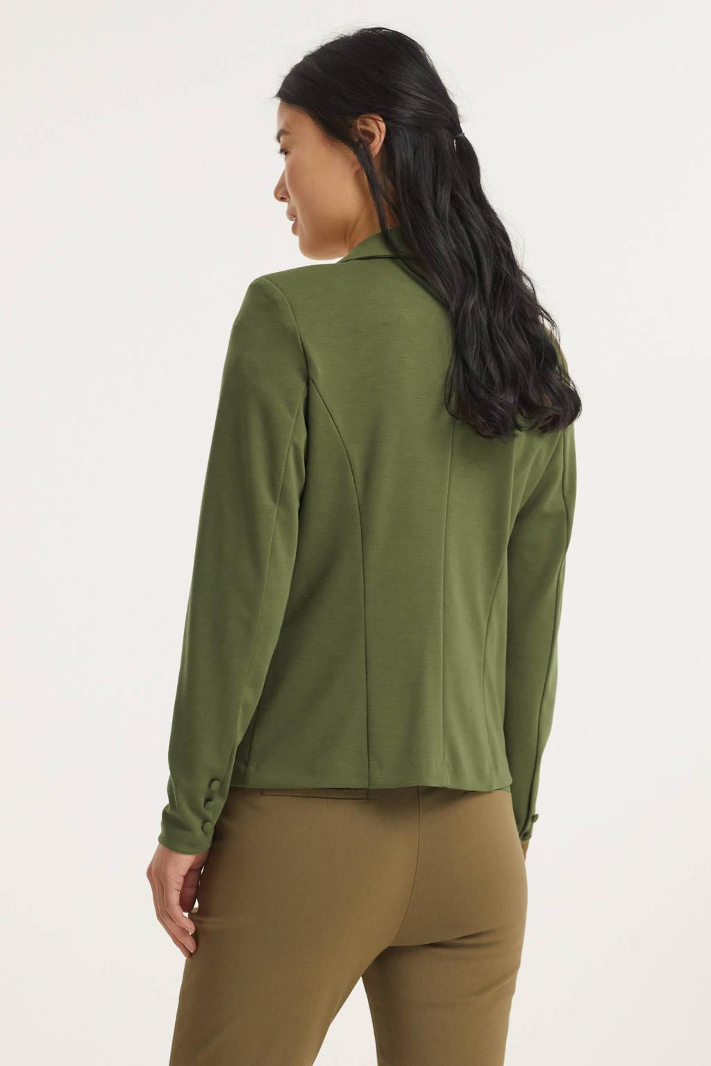 FREEQUENT blazer FQNANNI-JA groen, Groen