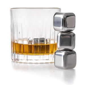 Whisky Stenen RVS (4 stuks)