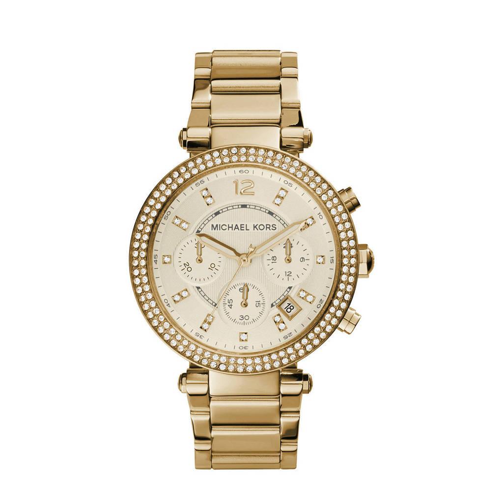 Michael Kors horloge MK5354 Parker goud, Goudkleurig