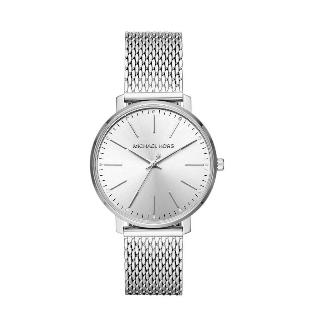 Michael Kors horloge MK4338 Pyper zilver, Zilverkleurig