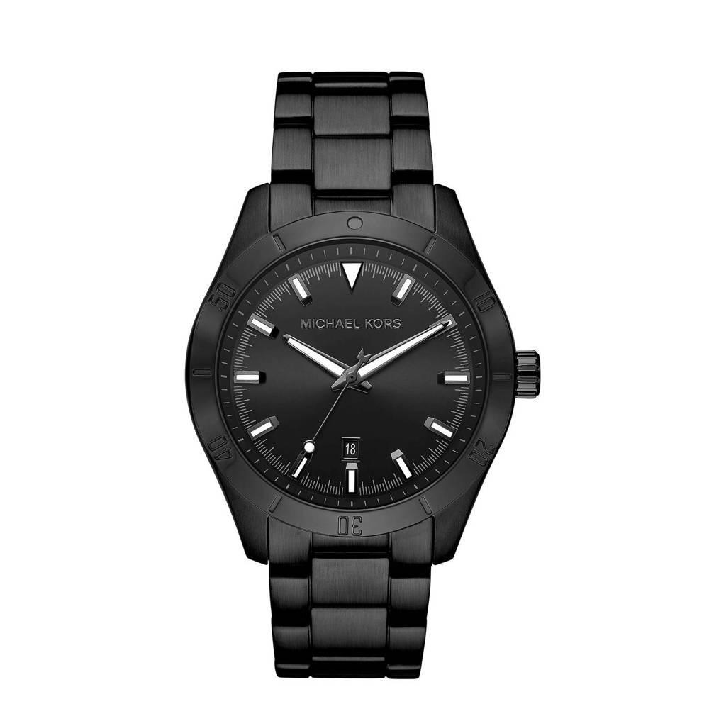 Michael Kors horloge MK8817 Layton zwart, Zwart