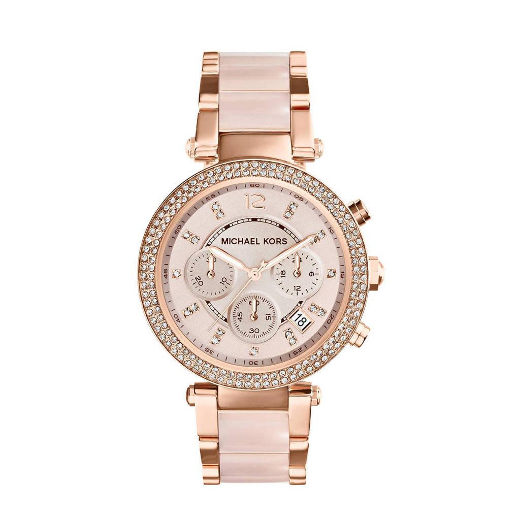 Michael Kors horloge MK5896 Parker rosé, Rosé