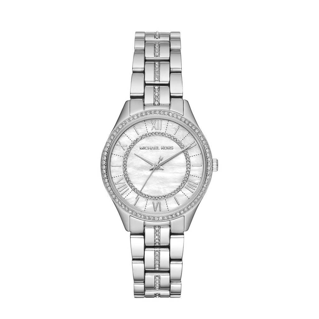 Michael Kors horloge MK3900 Lauryn zilver, Zilver